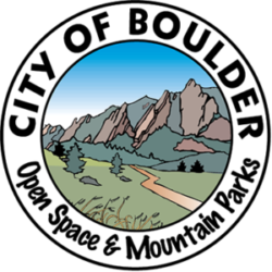 Open Space and Mountain Parks logo. Phillip delivered strategic communication and project management services for conservation projects while at City of Boulder Open Space and Mountain Parks.