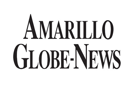 Amarillo Globe-News logo. Phillip covered crime and breaking news as a newspaper reporter at the Amarillo Globe-News.